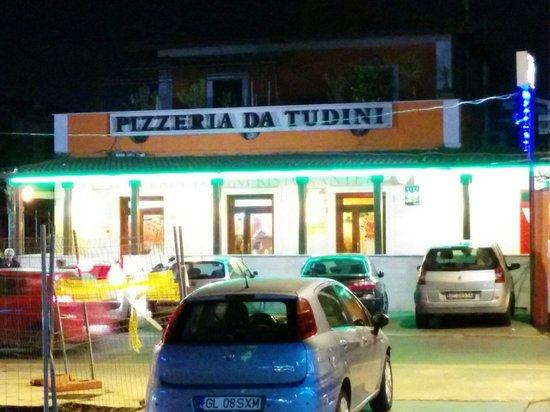Pizzeria Da Tudini: Ingresso