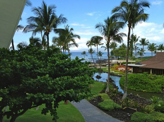 Mauna Lani Bay Hotel & Bungalows: View from the room