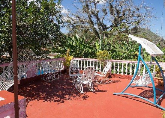 Casa Nena : la terrasse