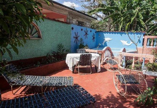 Casa Nena : près de la piscine