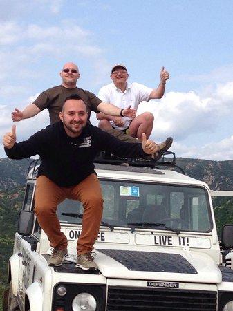 Sardinia Dream Tour - Day Tour: Having great fun with Francesco