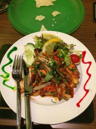 Vinyasa: Chicken kebab - delish