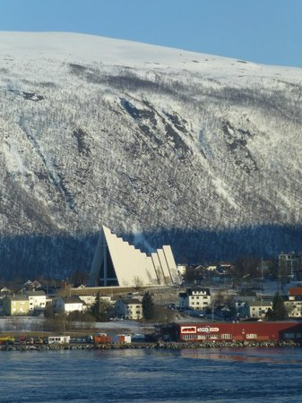 Radisson Blu Hotel, Tromso : Arctic Cathedral, View from Room