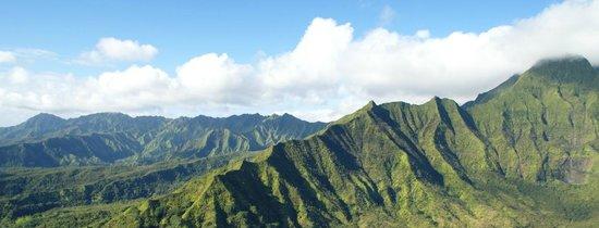 Mauna Loa Helicopter Tours: Kauai vu d'en haut