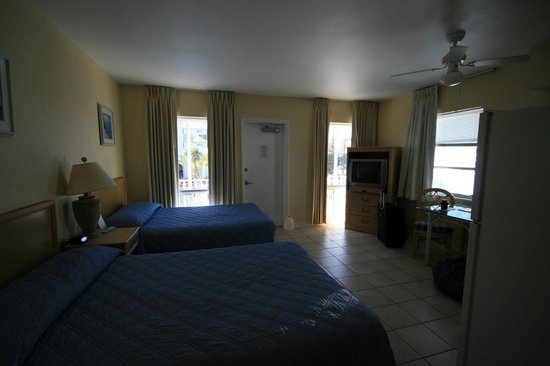 Gulf Beach Inn : Zimmer