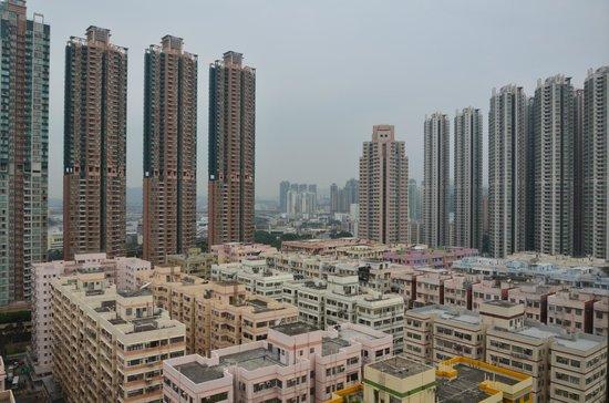 Dorsett Mongkok Hong Kong: Ausblick tagsüber