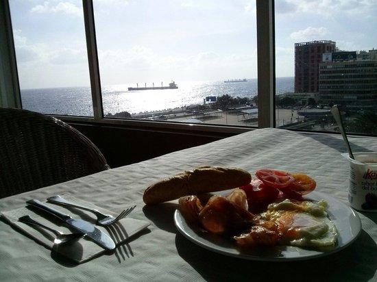 Hotel Parque: 6 floor. Breakfast:)