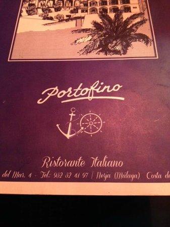 Portofino: de kaart