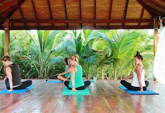 Ocean Spray Beach Apartments: Yoga pavilion