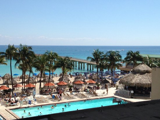 Newport Beachside Hotel and Resort: Sweet view!