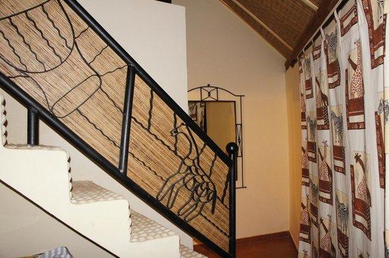 La Pierre de Lisse: chambre avec mezzanine