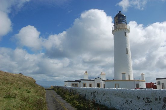 Mull of Galloway Lighthouse: Scotland's most southerly lighthouse, the Mull of Galloway, Dumfries and Galloway.
