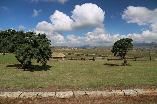De Ark Mountain Lodge : Aussicht auf die Anlage
