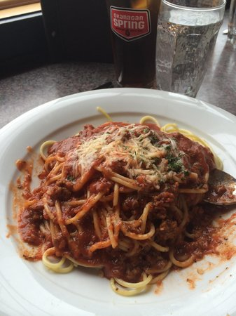 The Turning Point Restaurant: The spaghetti bolognaisse