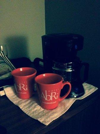 Hotel Abri : caffè