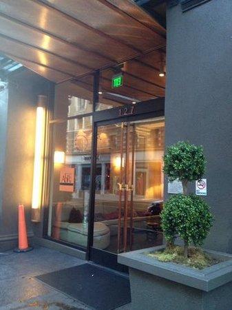 Hotel Abri: ingresso