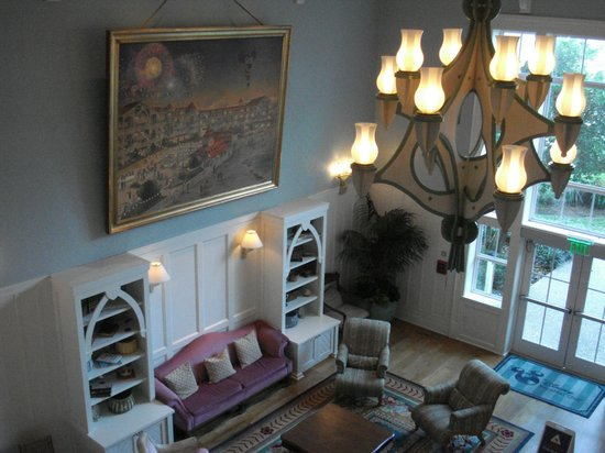Disney's Beach Club Villas: Lobby of the villas