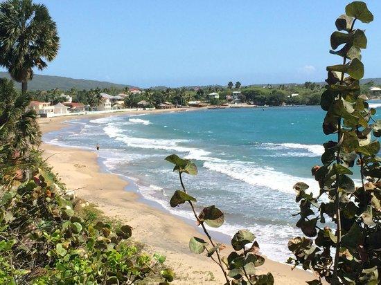 Treasure Beach Hotel: Widok z klifu