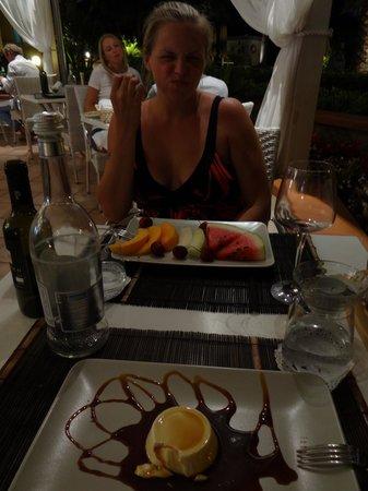 Hotel Olimpico: Delicious fruits!