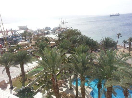 Leonardo Plaza Hotel Eilat : Vista desde mi ventana