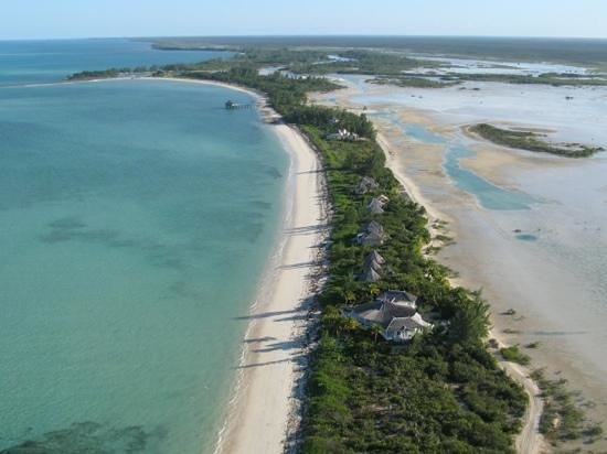 Kamalame Cay: Kamalame from air