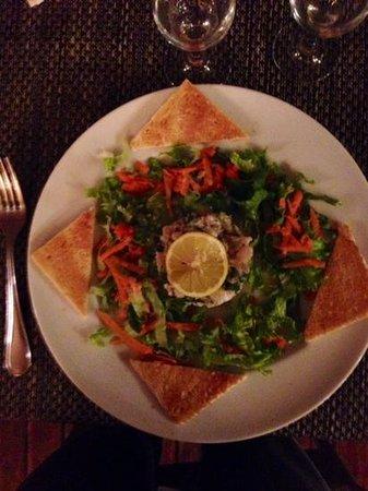 Le  Calypso : le tartare de Mahi-Mahi