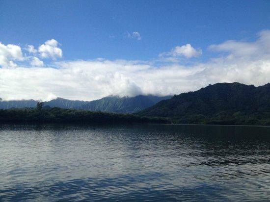 Kualoa Regional Park: View from Ocean Voyage