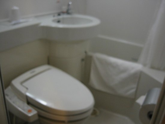 Super Hotel Takamatsu Tamachi : 洗面・バスルーム