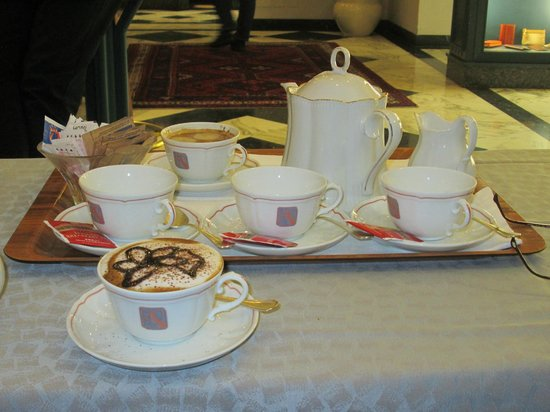 Hotel Berchielli: Afternoon tea & coffee