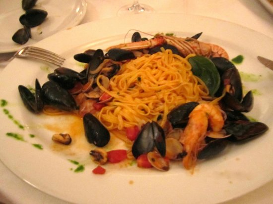 Ristorante Europa: Great seafood entrees