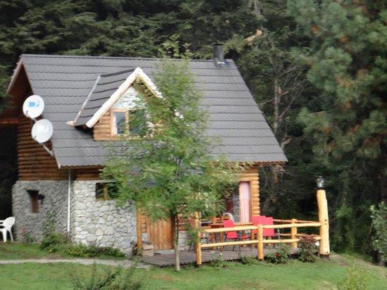 Cabanas Paisaje Bandurrias : la cabaña