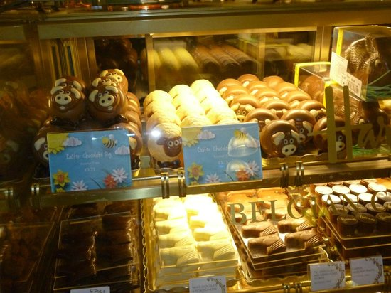 Harrods : biscottini  di cioccolato