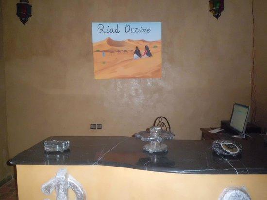 Riad Ouzine: recepcion