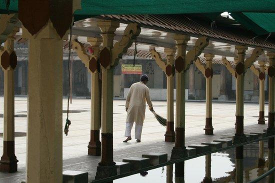 Jama Masjid : Vista hacia el patio central