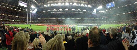 Principality Stadium: Wales vs Scotland 2014