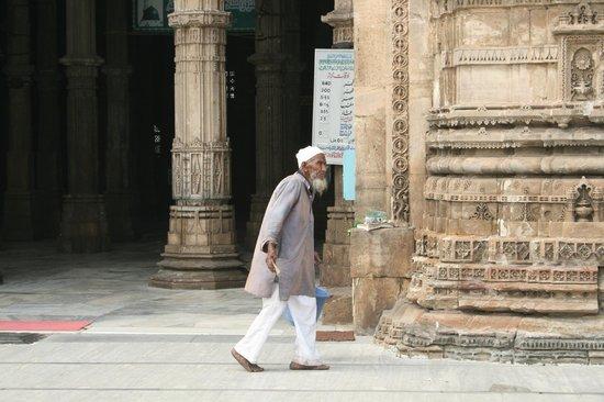 Jama Masjid : Desde el patio