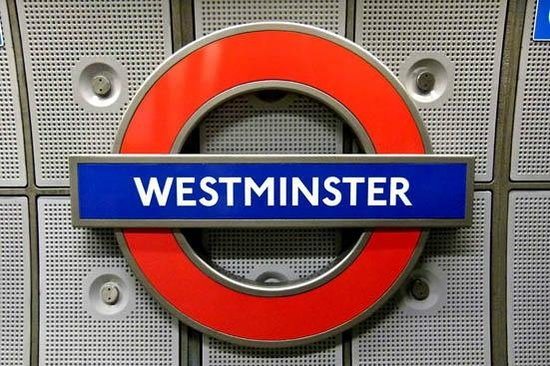 Houses of Parliament: westminster underground