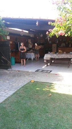 Espaco Monte Cristo: Petit déjeuner
