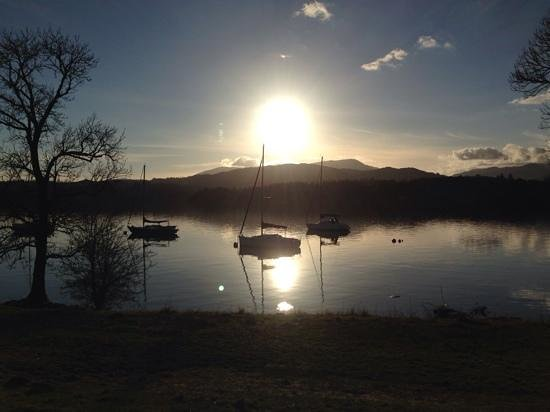 The Fisherbeck : Lake Windermere at early evening