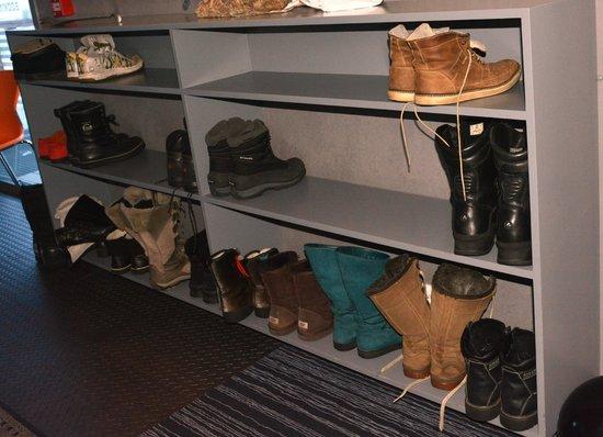 Svalbard Hotel : Boot Store