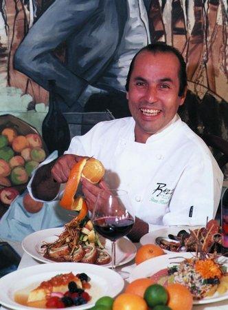 Razz's Restaurant & Bar: Chef Razz Kamnitzer