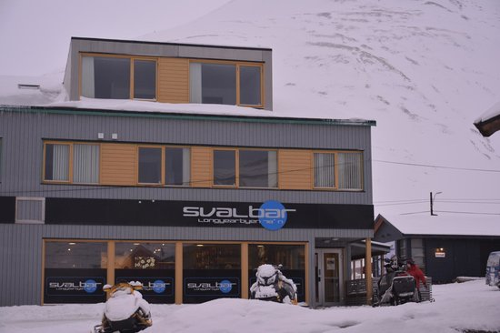Svalbard Hotel: Breakfast at the Svalbar