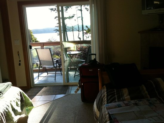 Blue Bear Bed and Breakfast: The view from our room