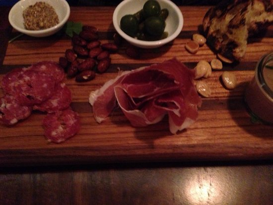 Artisan: Charcuterie plate. Okay so