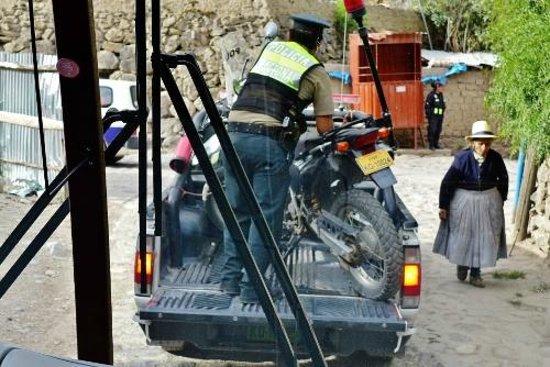 Tempel von Ollantaytambo: Hitching a ride