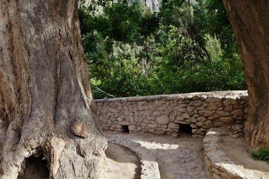 Tempel von Ollantaytambo: Pre-Inca stone work