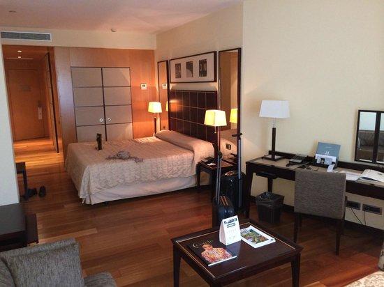 Eurostars Grand Marina Hotel : la chambre : literie excellente !