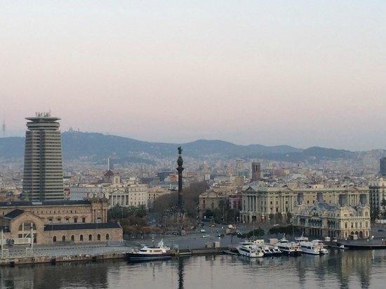 Eurostars Grand Marina Hotel : vue depuis la terrasse de l'hôtel
