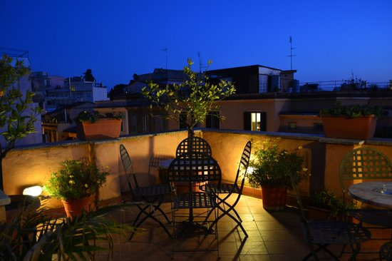 Hotel Novecento : Terrazzo