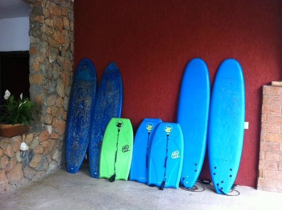 La Bocana Restaurante: Surf Lessons in Bocana Restaurant
